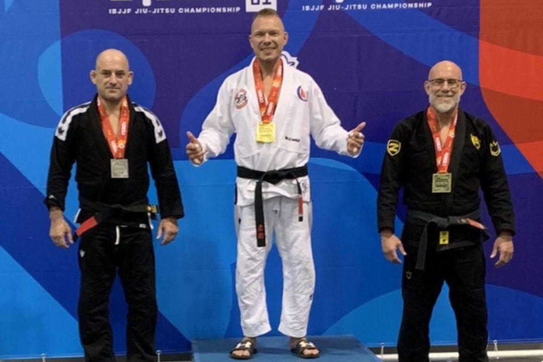 brian on podium at Atl open