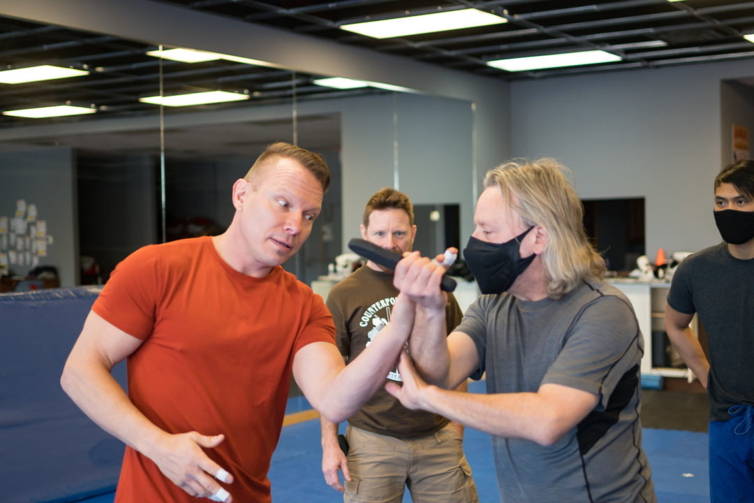 self defense with weapons